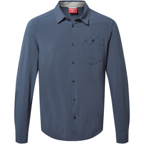 Craghoppers NosiLife Hedley Longsleeved Shirt Men, steel blue